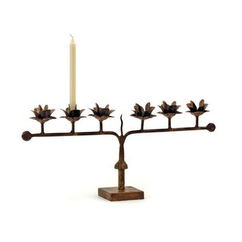 Line of Rose Candle Holder