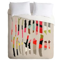 Garima Dhawan Painted Twigs 1 Duvet Cover