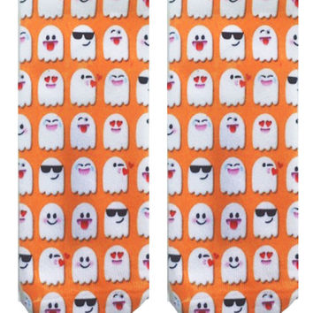 EMOJI GHOST SOCKS