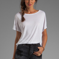 Vince Dolman Tee in White from REVOLVEclothing.com