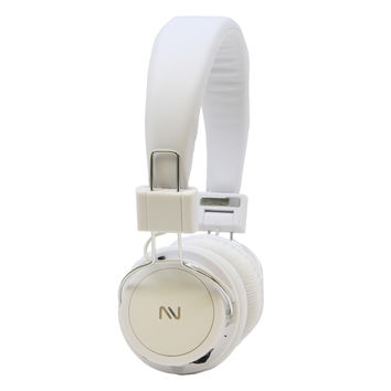 Nutek Hands Free Headphones with Microphone Built-in Rehargeabale Battery