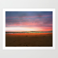 Evening dream Art Print by  Alexia Miles Photography