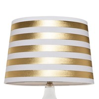 Threshold™ Gold Stripe Lamp Shade - Large