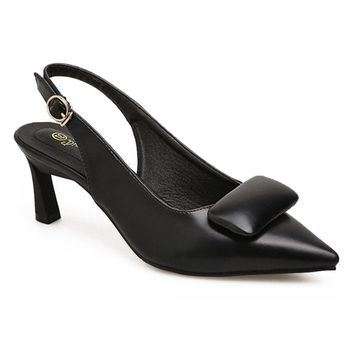 High Heel Slingback Pumps