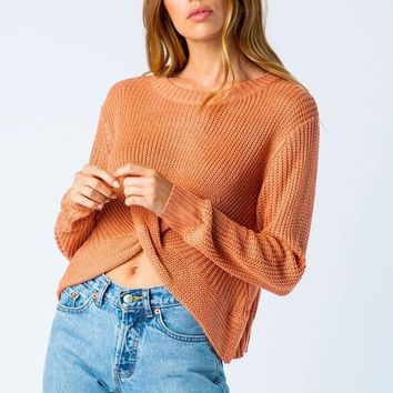 One Last Thing Sweater