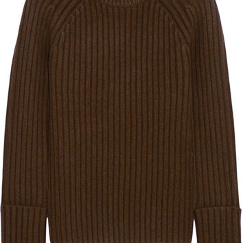 Michael Kors Collection - Ribbed merino wool-blend sweater