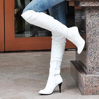 Thin High Heels Boots Women Sexy Over Knee Ladies Boots