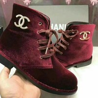 CHANEL Women Trending Fashion Boots I-AGG-CZDL
