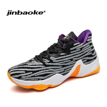 2018 New Men's Basketball Shoes Zapatillas Hombre Deportiva Lebron Breathable Men Ankle Boots Basketball Shoes Sneakers