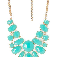 Facets of Fancy Bib Necklace