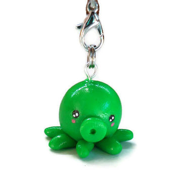 Little Kawaii Octopus Charm