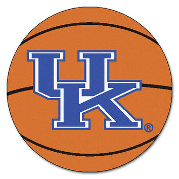Kentucky Wildcats NCAA Basketball Round Floor Mat (29) UK Logo