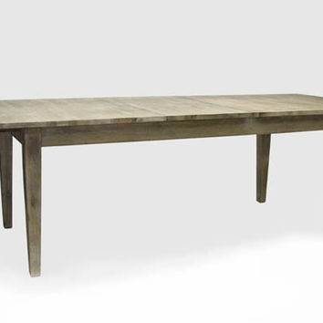 French Dining Table -Limed Grey Oak Finish