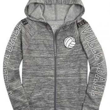 Sports Zip Up Hoodie | Girls Play Like A Girl Features | Shop Justice
