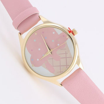 Mint Ice Cream Watch