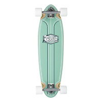 "Longboard Cruiser - Green Foam Top Duke 33"" - Stella Complete"