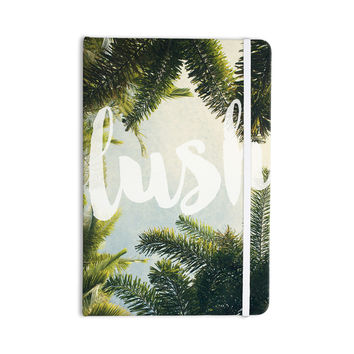 "Catherine McDonald ""Lush"" Nature Typography Everything Notebook"