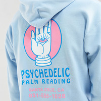 Psychedelic Palm Reader Hoodie Sweatshirt | Urban Outfitters