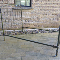 French Vintage metal bed frame