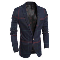 Luxury Design Men's Wool Blend Blazer
