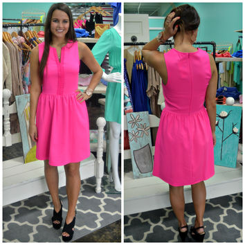 Pink A-Line Everly Dress