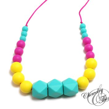The Vanellope Teething / Nursing Necklace