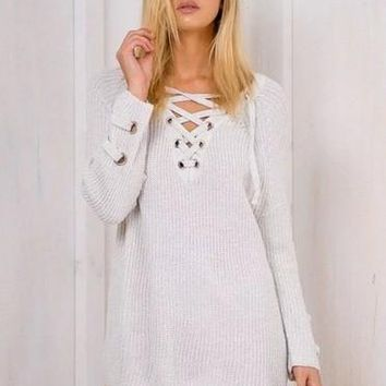 Women's Fashion Sexy Sweater [62982291481]