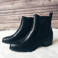 The Sadie Chelsea Boot (Black)