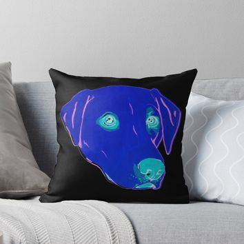 'Labrador Retriever ' Throw Pillow by RaLiz