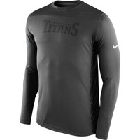 Tennessee Titans Nike Speed Long Sleeve Performance T-Shirt – Charcoal