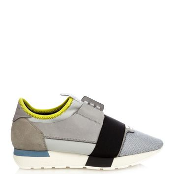 Multi-panel low-top trainers | Balenciaga | MATCHESFASHION.COM US