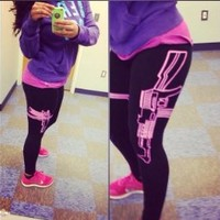 Sexy Sportswear gym sports leggings fitness pants