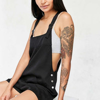 BDG Nicki Black Dungaree Playsuit - Urban Outfitters