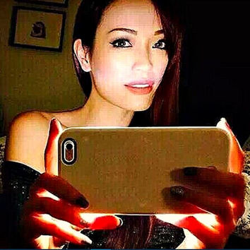 LED Light selfie Phone Case for Iphone 6 6S 6 6S Plus Light Selfie Led Cover 4 colors