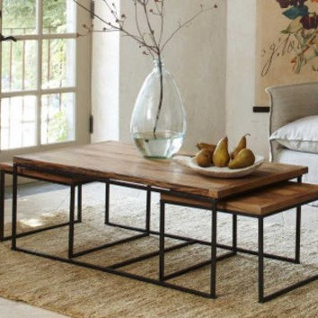 Three Tier Nesting Coffee Table