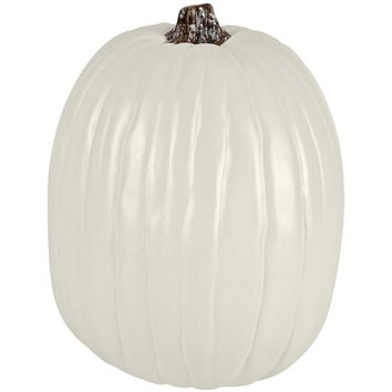 "13"" Cream Craft Pumpkin By Ashland®"