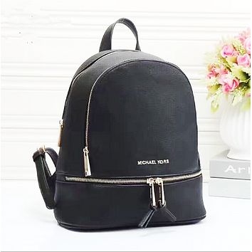 MK women Bag Shoulder School Bag Backpack