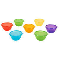 Babies R Us Reusables Bowls with Lids 7 Pack - 8 oz