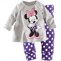 Minnie Mouse Sleepy Girl Clothing Set