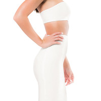 """Caleña"" Bandage Two Piece - White"