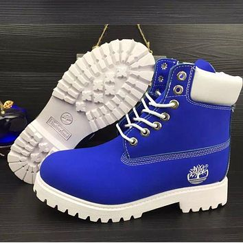 Timberland Women Men Fashion Wool Snow Boots Shoes