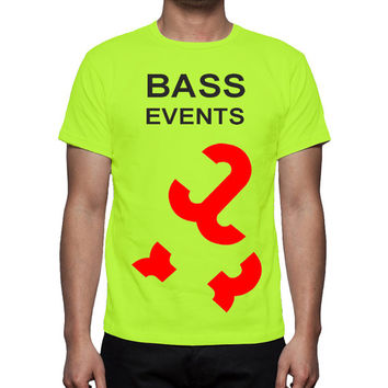 BASS EVENTS, T-shirt  design,  unique design, all sizes. great gift