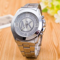 Great Deal Gift Good Price Trendy Designer's New Arrival Awesome Stylish Hot Sale Stainless Steel Silver Dial Watch [11912227539]
