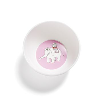 Pink Elephant Eco-Friendly Bowl