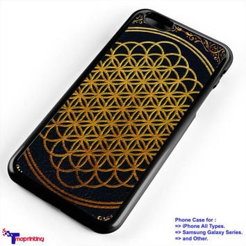 Bring Me The Horizon cover album gold BMTH Case - Personalized iPhone 7 Case, iPhone 6/6S Plus, 5 5S SE, 7S Plus, Samsung Galaxy S5 S6 S7 S8 Case, and Other