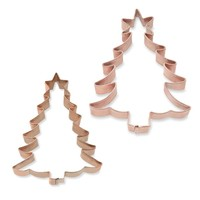 Christmas Tree Copper Cookie Cutter