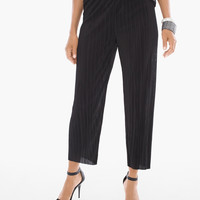 Chico's Crinkled Soft Crop Pants