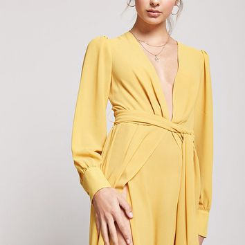 Semi-Sheer Tulip Maxi Dress