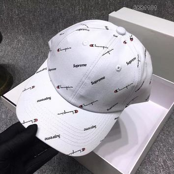 Champion & Supreme Printed Baseball Hat