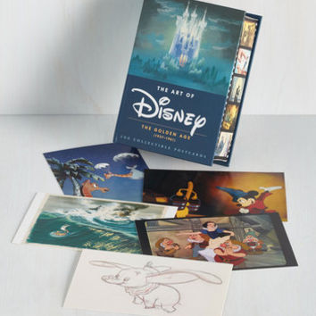 Fairytale The Art of Disney Notecard Set by Chronicle Books from ModCloth